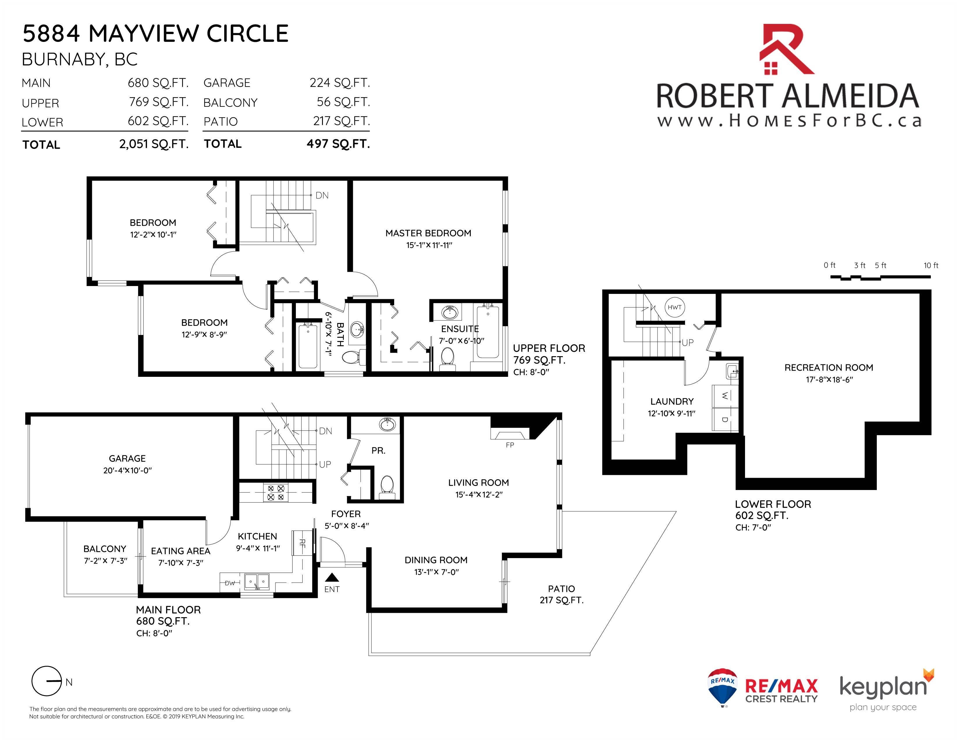 5884 Mayview Circle Burnaby By Robert Almeida Onikon Creative Inc Floorplan