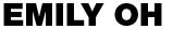 Emily Oh - Branding Logo