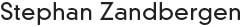 Stephan Zandbergen - Branding Logo