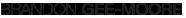 Brandon Gee - Branding Logo