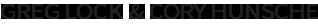 Greg Lock - Branding Logo